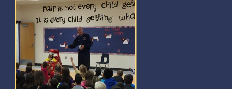 Thank You to the KFD for a great Fire Safety Assembly!